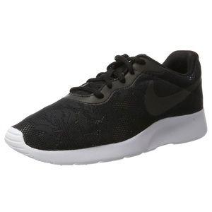 Womens Nike Black Lace Tanjun Shoes